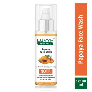 luvyh papaya face wash