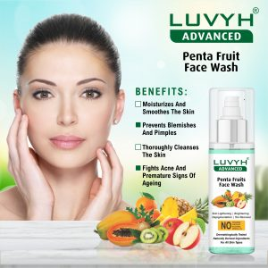 luvyh fruits face wash